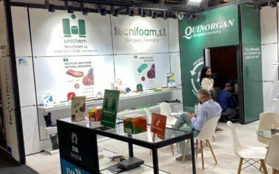Tecnifoam-Quinorgan presentaron sus productos sostenibles en la feria AYSAF(Turquía).