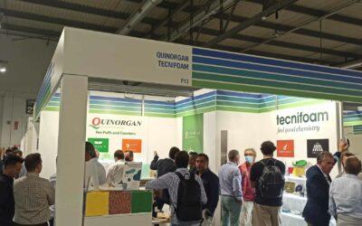 Tecnifoam-Quinorgan presentaron sus productos sostenibles en Lineapelle21